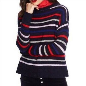 Court & Rowe Amelia sweater in navy crush small